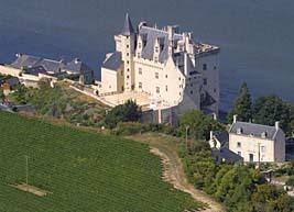 замок Montsoreau